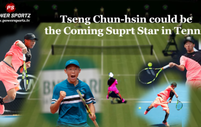 Tseng Chun-hsin could be the Coming Hottest Property in Tennis