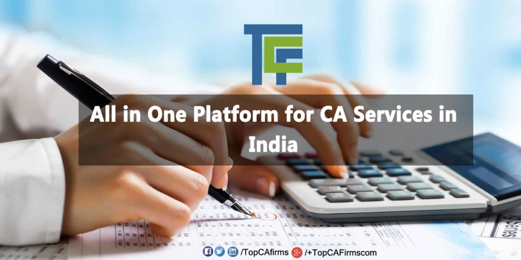 CA services in India