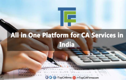 TopCAfirms – All in One Platform for CA Services in India