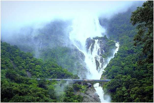 Dudhsagar Waterfall in Goa: A sight to Behold!!!