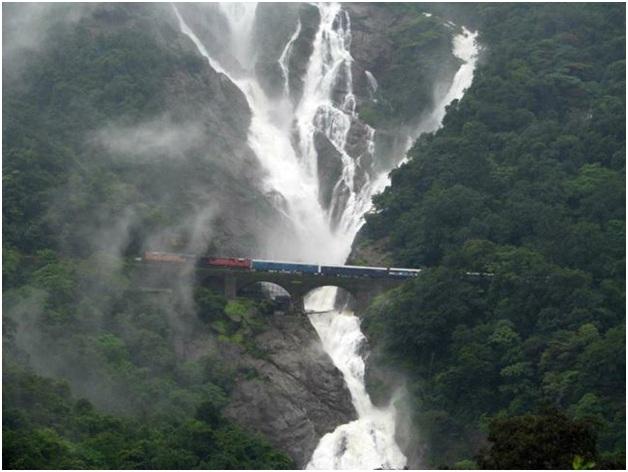 Goa Tours Dudhsagar waterfalls