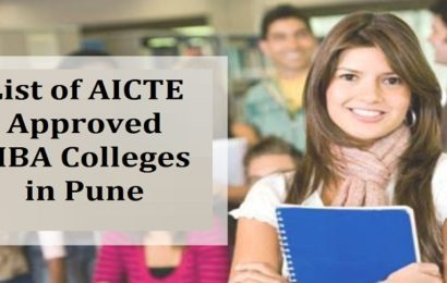 List of AICTE Approved MBA Colleges in Pune